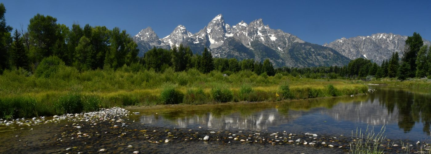 Photo of Tetons in Wyoming
