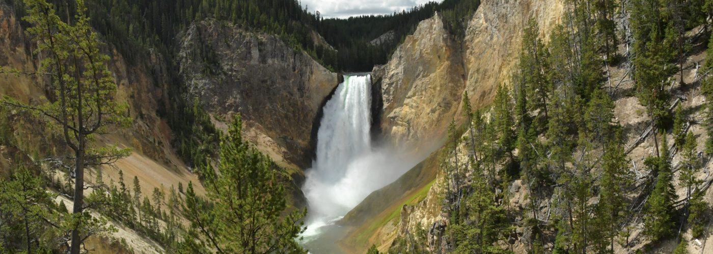 Lower Falls, Yellowstone Park