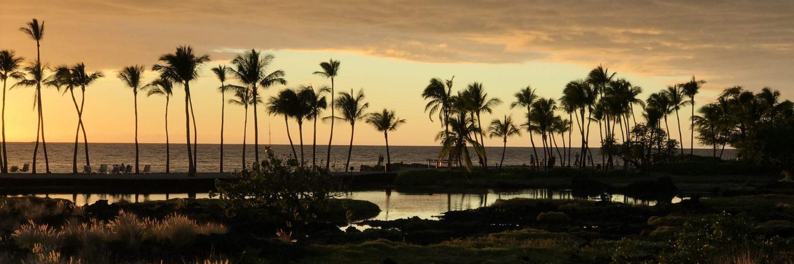 Sunset on Big Island